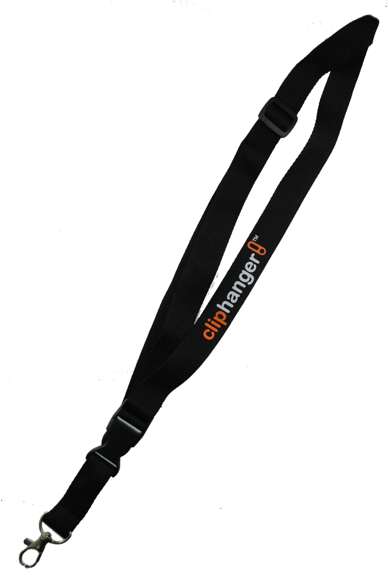 Cliphanger Lanyard  Black