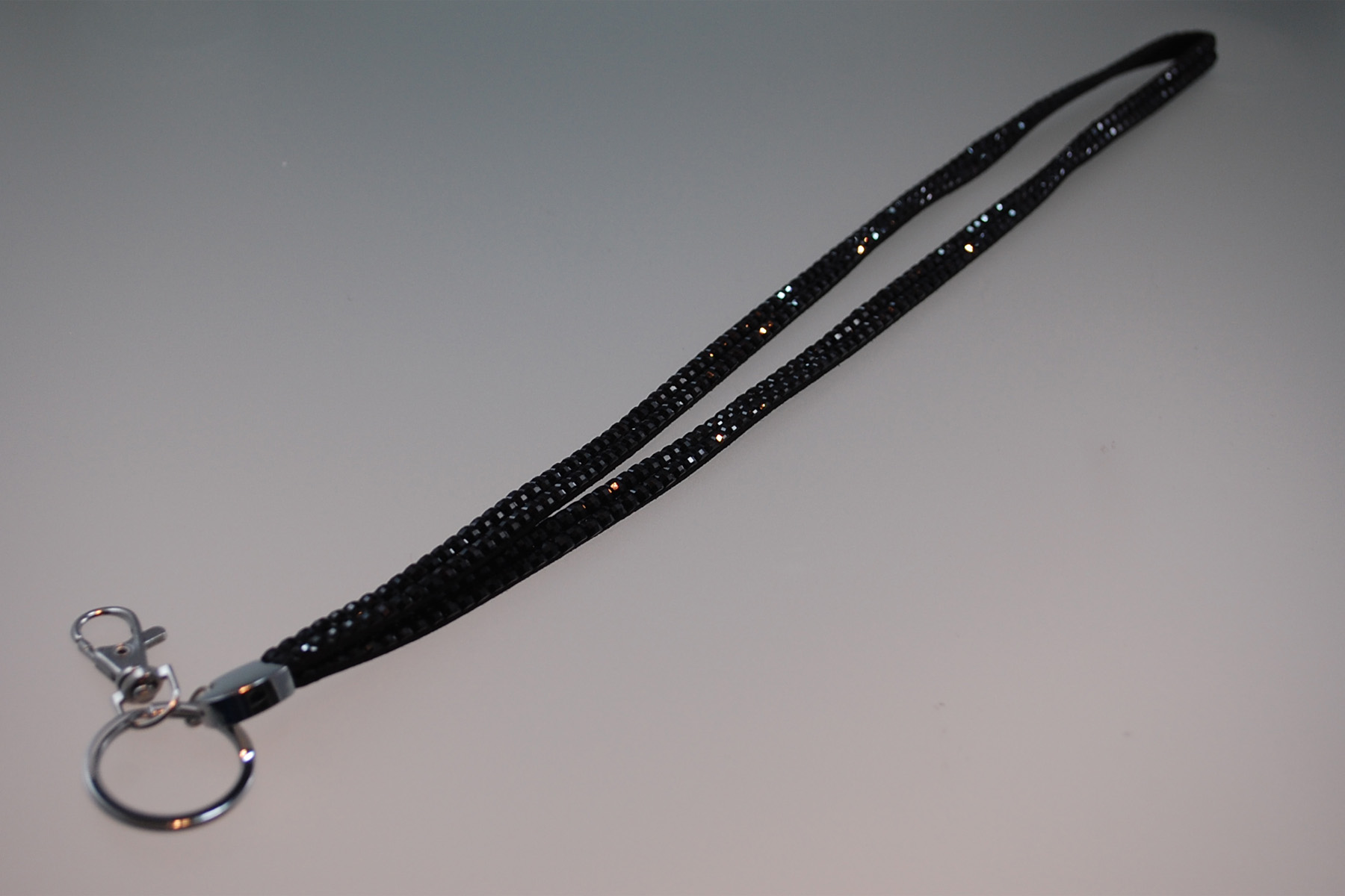 Cliphanger Lanyard Bling Black