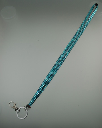 Cliphanger Lanyard Bling Teal