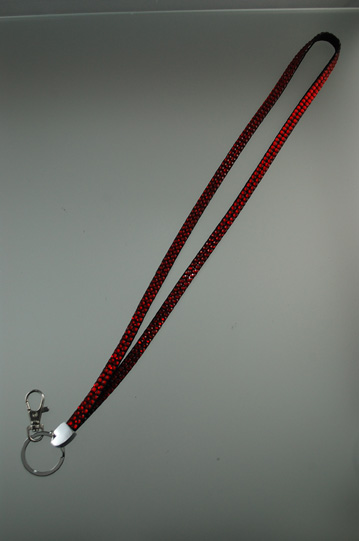 Cliphanger Lanyard Bling Red