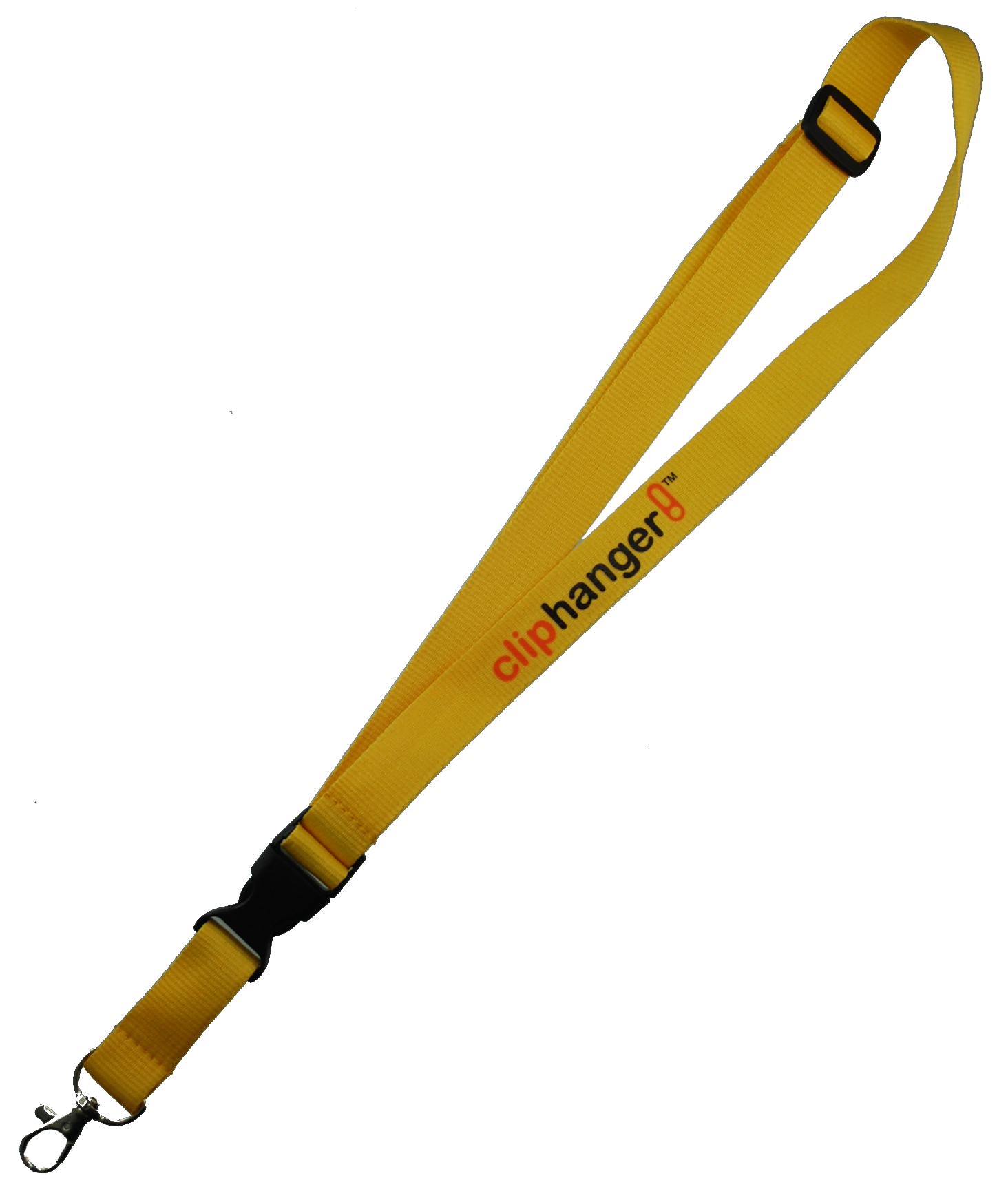 Cliphanger Lanyard  Yellow